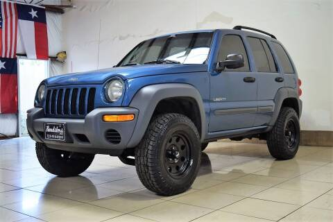 2004 Jeep Liberty for sale at ROADSTERS AUTO in Houston TX