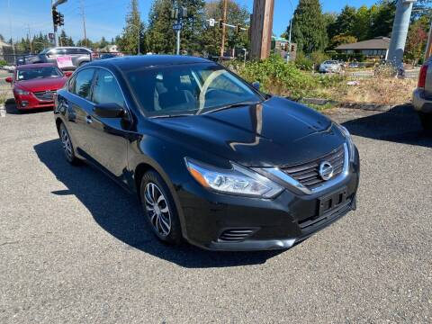 2016 Nissan Altima for sale at KARMA AUTO SALES in Federal Way WA