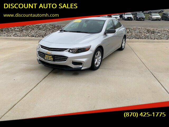 2017 Chevrolet Malibu for sale at DISCOUNT AUTO SALES in Mountain Home AR