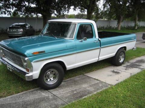 1969 Ford F-250 for sale at RPM Motors LLC in West Palm Beach FL