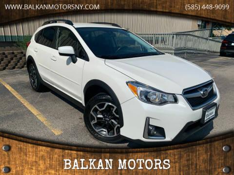 2016 Subaru Crosstrek for sale at BALKAN MOTORS in East Rochester NY