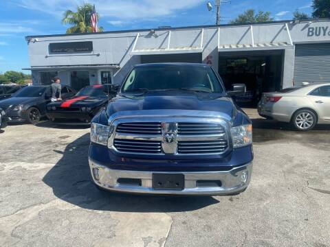 2014 RAM Ram Pickup 1500 for sale at America Auto Wholesale Inc in Miami FL