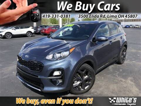 2020 Kia Sportage for sale at White's Honda Toyota of Lima in Lima OH