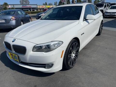 2011 BMW 5 Series for sale at CARSTER in Huntington Beach CA