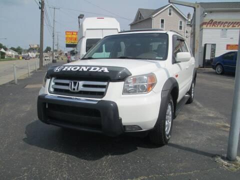 2007 Honda Pilot for sale at GREG'S EAGLE AUTO SALES in Massillon OH