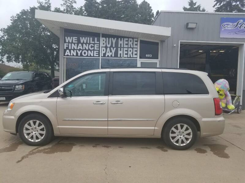 2012 Chrysler Town and Country for sale at STERLING MOTORS in Watertown SD