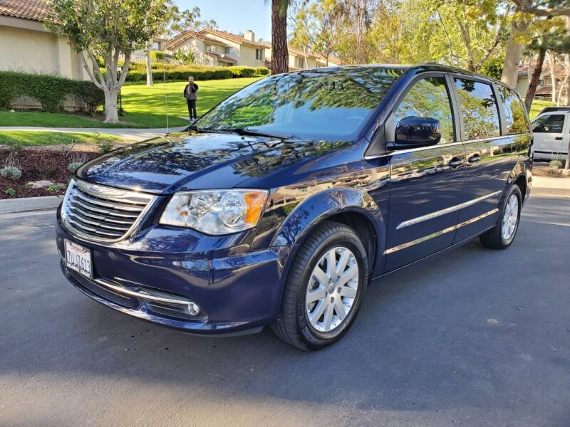 2016 Chrysler Town and Country for sale at E MOTORCARS in Fullerton CA