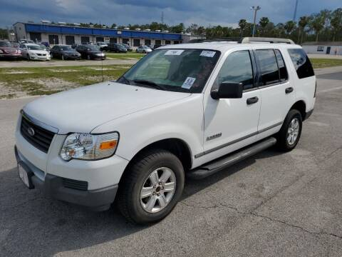 2006 Ford Explorer for sale at The Peoples Car Company in Jacksonville FL