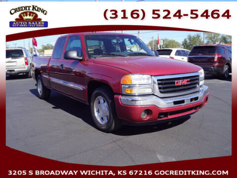 2005 GMC Sierra 1500 for sale at Credit King Auto Sales in Wichita KS