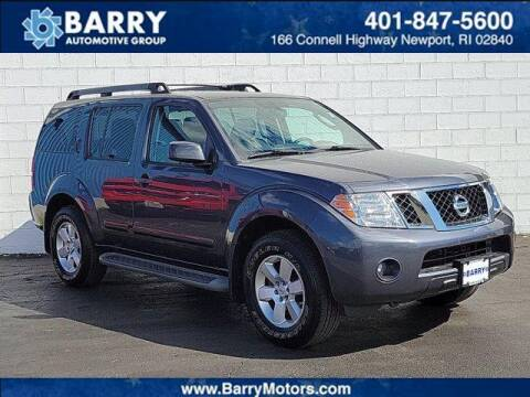 2012 Nissan Pathfinder for sale at BARRYS Auto Group Inc in Newport RI