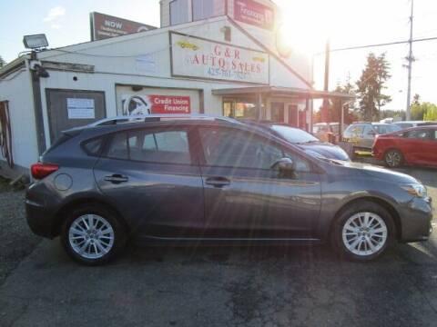 2017 Subaru Impreza for sale at G&R Auto Sales in Lynnwood WA