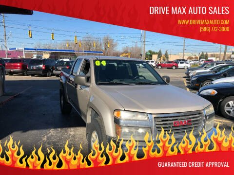 2004 GMC Canyon for sale at Drive Max Auto Sales in Warren MI