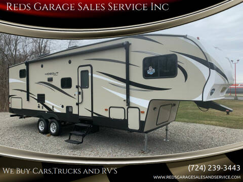 2019 Keystone Hideout for sale at Reds Garage Sales Service Inc in Bentleyville PA