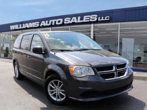 2015 Dodge Grand Caravan for sale at Williams Auto Sales, LLC in Cookeville TN