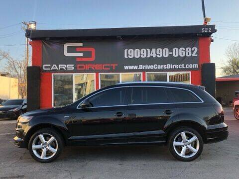 2014 Audi Q7 for sale at Cars Direct in Ontario CA