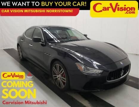2015 Maserati Ghibli for sale at Car Vision Mitsubishi Norristown in Trooper PA