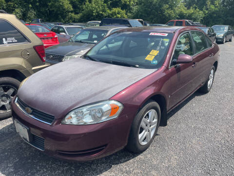 2007 Chevrolet Impala for sale at Trocci's Auto Sales in West Pittsburg PA