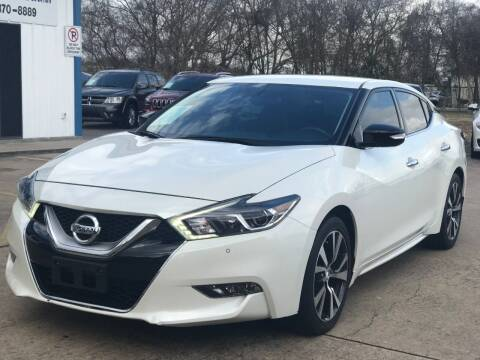 2017 Nissan Maxima for sale at Discount Auto Company in Houston TX