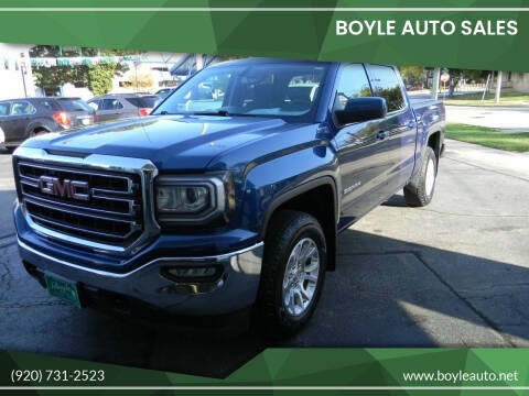 2016 GMC Sierra 1500 for sale at Boyle Auto Sales in Appleton WI