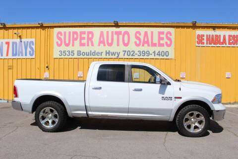 2015 RAM Ram Pickup 1500 for sale at Super Auto Sales in Las Vegas NV