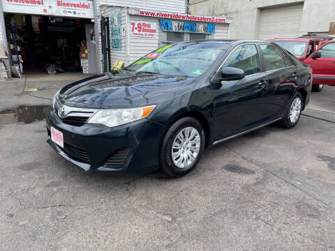 2013 Toyota Camry for sale at Riverside Wholesalers 2 in Paterson NJ