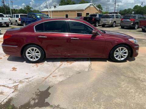 2013 Hyundai Genesis for sale at Uncle Ronnie's Auto LLC in Houma LA