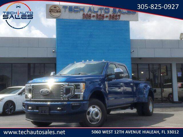 2022 Ford F-350 Super Duty for sale at Tech Auto Sales in Hialeah FL