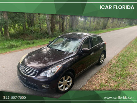 2010 Infiniti EX35 for sale at ICar Florida in Lutz FL