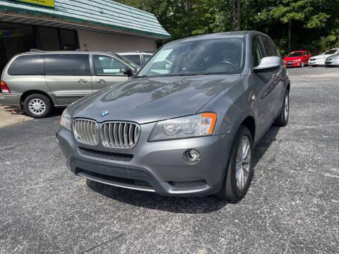 2014 BMW X3 for sale at Diana Rico LLC in Dalton GA