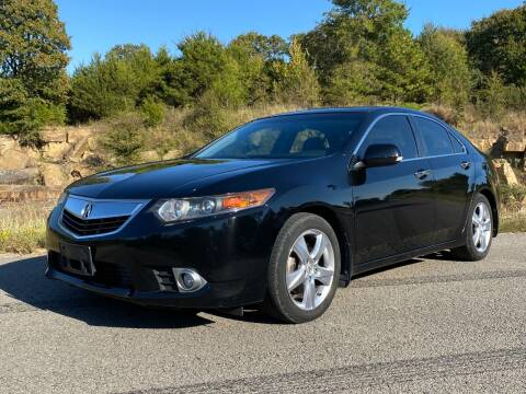 2012 Acura TSX for sale at TINKER MOTOR COMPANY in Indianola OK