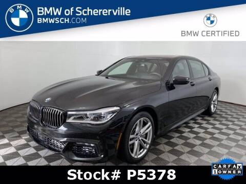 2018 BMW 7 Series for sale at BMW of Schererville in Shererville IN