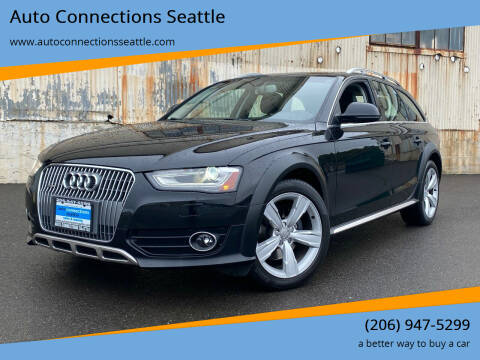 2013 Audi Allroad for sale at Auto Connections Seattle in Seattle WA