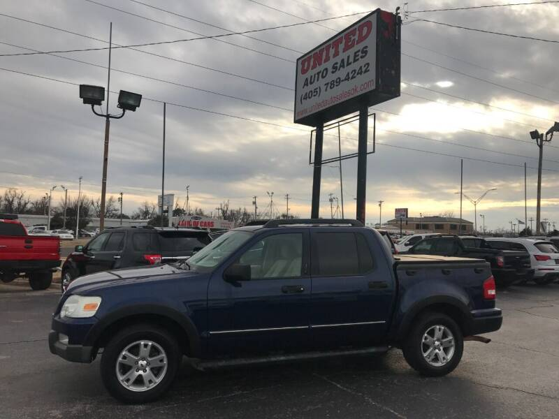 2007 Ford Explorer Sport Trac for sale at United Auto Sales in Oklahoma City OK