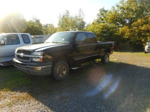 2004 Chevrolet Silverado 1500 for sale at Automotive Toy Store LLC in Mount Carmel PA