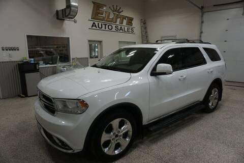 2014 Dodge Durango for sale at Elite Auto Sales in Ammon ID