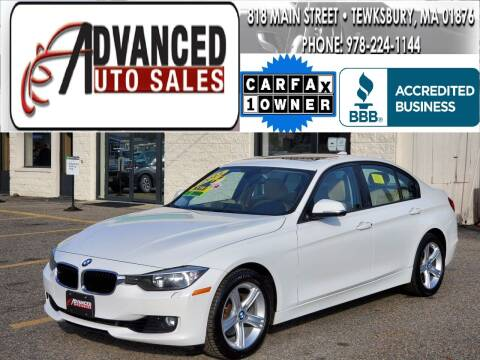 2013 BMW 3 Series for sale at Advanced Auto Sales in Tewksbury MA
