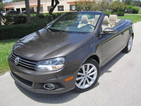 2012 Volkswagen Eos for sale at FLORIDACARSTOGO in West Palm Beach FL