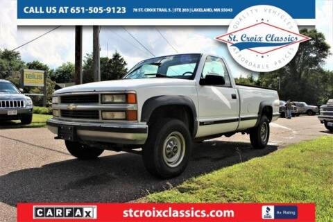 1999 Chevrolet C/K 2500 Series for sale at St. Croix Classics in Lakeland MN