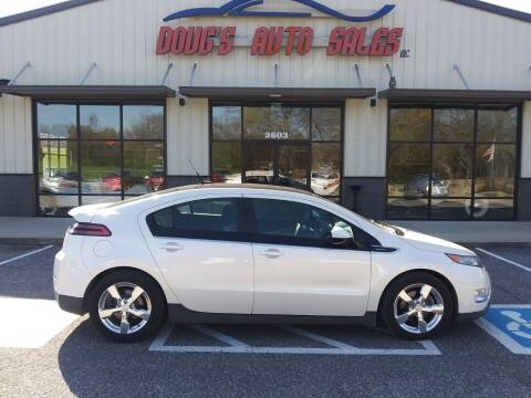 2012 Chevrolet Volt for sale at DOUG'S AUTO SALES INC in Pleasant View TN