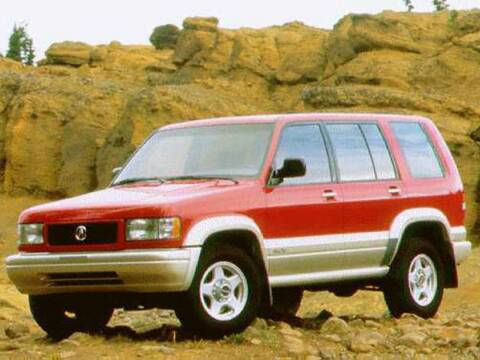 1996 Acura SLX for sale at St. Croix Classics in Lakeland MN