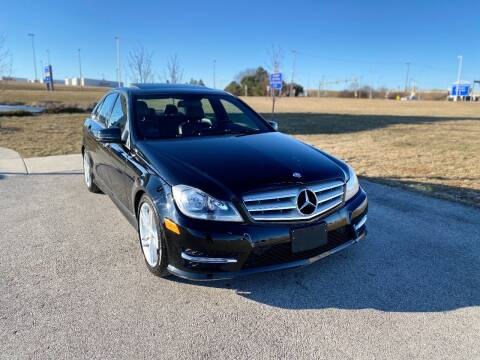 2012 Mercedes-Benz C-Class for sale at Airport Motors in Saint Francis WI