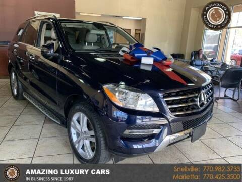 2015 Mercedes-Benz M-Class for sale at Amazing Luxury Cars in Snellville GA