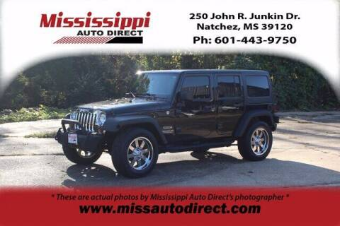 2014 Jeep Wrangler Unlimited for sale at Auto Group South - Mississippi Auto Direct in Natchez MS