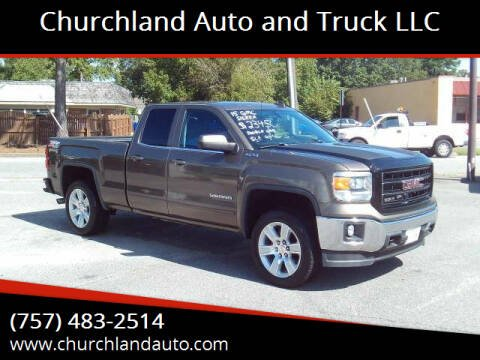 2015 GMC Sierra 1500 for sale at Churchland Auto and Truck LLC in Portsmouth VA