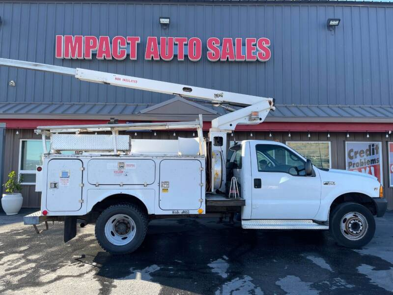 2000 Ford F-450 Super Duty for sale at Impact Auto Sales in Wenatchee WA