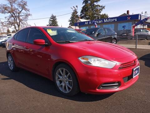 2013 Dodge Dart for sale at All American Motors in Tacoma WA