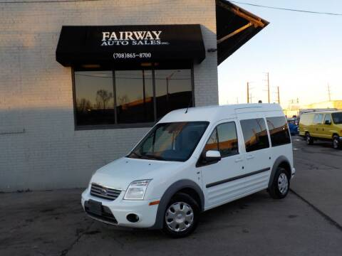 2013 Ford Transit Connect for sale at FAIRWAY AUTO SALES, INC. in Melrose Park IL
