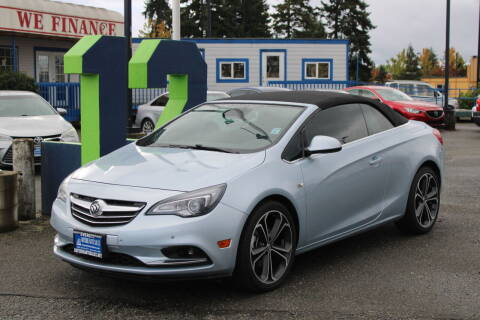 2016 Buick Cascada for sale at BAYSIDE AUTO SALES in Everett WA