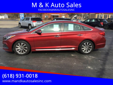 2016 Hyundai Sonata for sale at M & K Auto Sales in Granite City IL