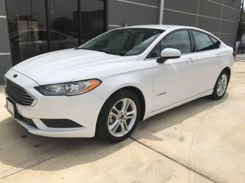 2018 Ford Fusion Hybrid for sale at Eurospeed International in San Antonio TX